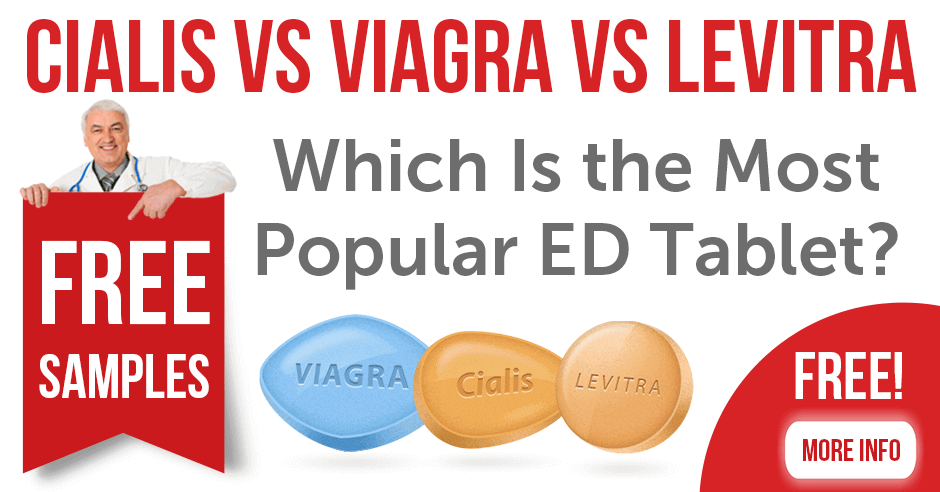 Cialis vs Viagra - Which Is The Most Popular ED Tablet?