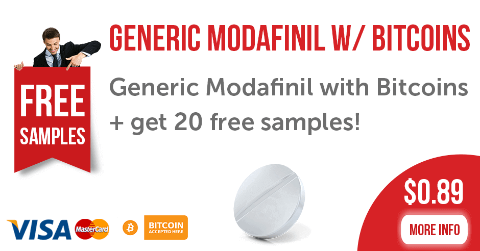 Generic Modafinil with Bitcoin