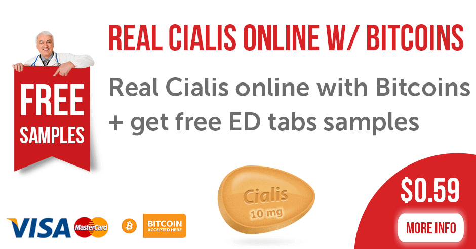 real Cialis online with Bitcoins