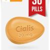 Generic Cialis 20 mg x 30 Tabs