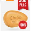 Generic Cialis 20 mg x 500 Tabs