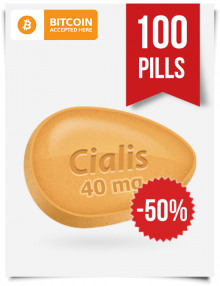 Generic Cialis 40 mg 100 Tablets Online