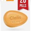 Cialis 40 mg 20 Pills Online