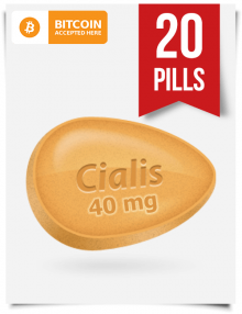 Cialis 40 mg 20 Pills Online