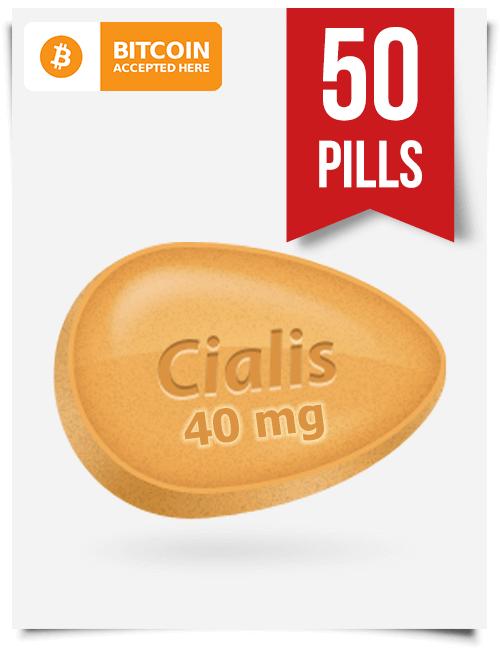 Cialis 40 mg 50 Pills Online