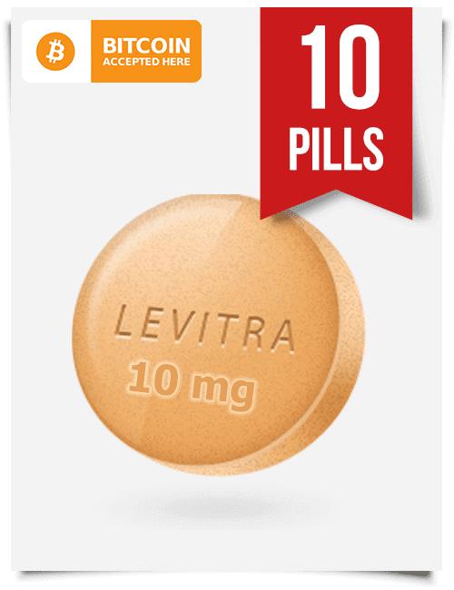 Buy Levitra Online 10 mg x 10 Tabs