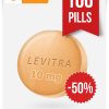 Buy Levitra Online 10 mg x 100 Tabs
