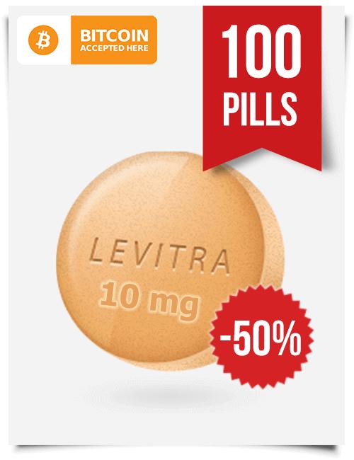 Buy Levitra Online 10 mg x 100 Tabs