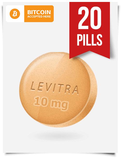Buy Levitra Online 10 mg x 20 Tabs