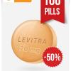 Buy Levitra Online 20 mg x 100 Tabs