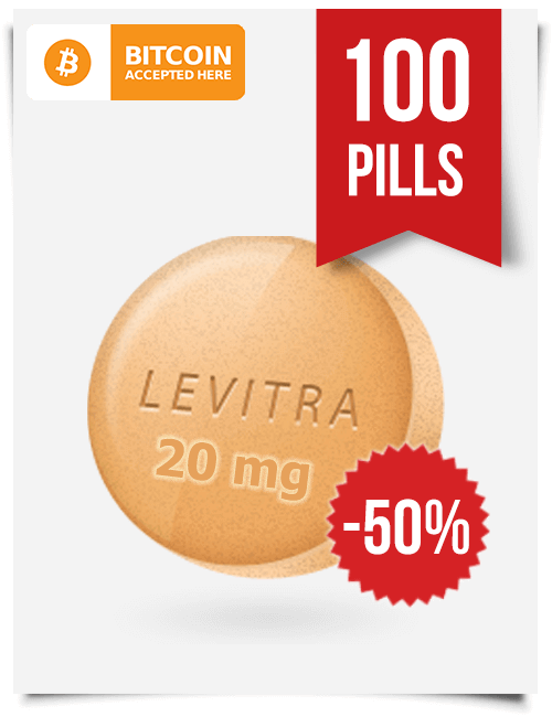 Buy Levitra Online 20 mg x 100 Tabs