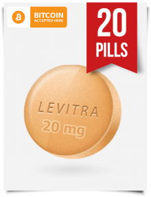 Buy Levitra Online 20 mg x 20 Tabs