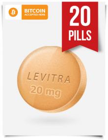 Buy Levitra Online 20 mg x 20 Tabs