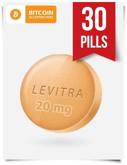 Buy Levitra Online 20 mg x 30 Tabs