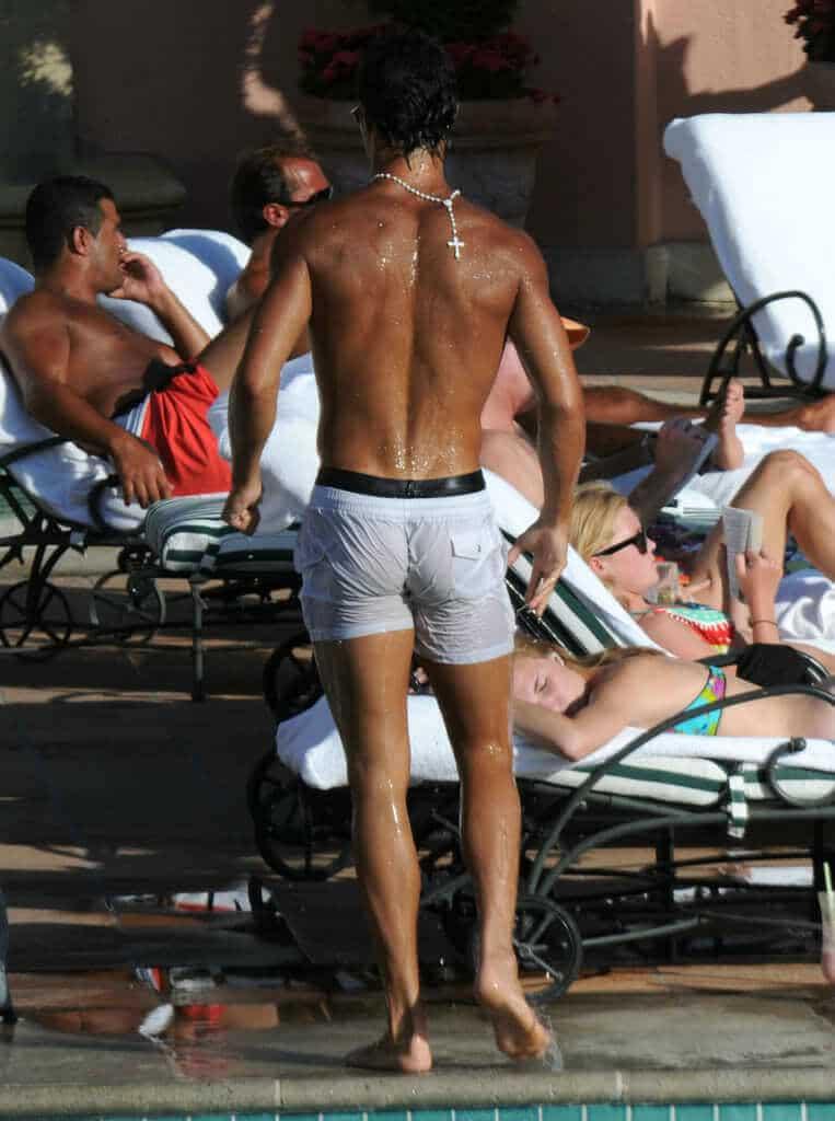 Sexy Cristiano Ronaldo Ass Naked