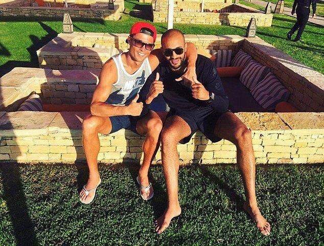 Sex Cristiano Ronaldo and His Boyfriend from Morocco