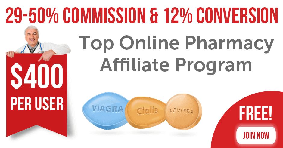 Top Online Pharmacy Affiliate Program - Earn 50% commission