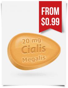 Megalis 20 mg